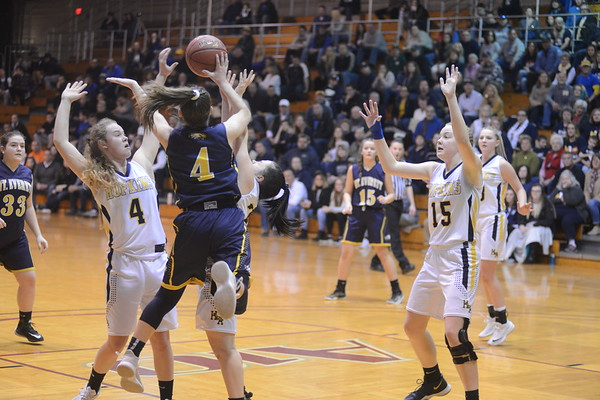 Mount Everett falls to Ware in the D-IV girls basketball championship