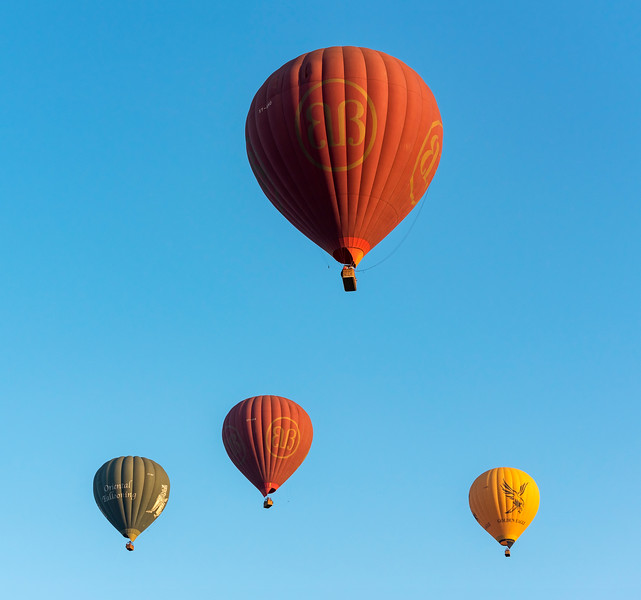Hot-air Balloons, Bagan