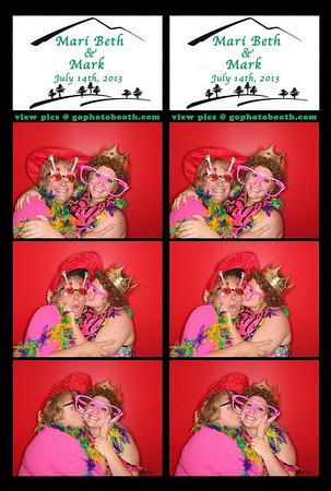 Maribeth & Mark Vail Photo Booth 7/14/13
