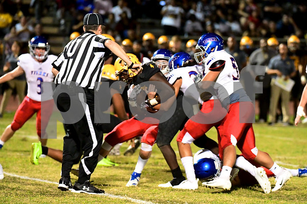 Officials Arcadia at Marcos De Niza  10-26-18