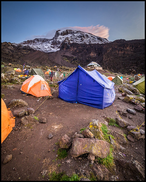 Barranco Camp, 3900m