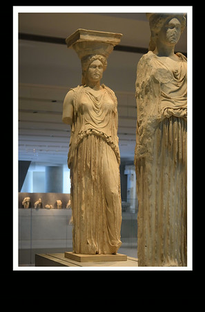 The Caryatids from the Athens Acropolis