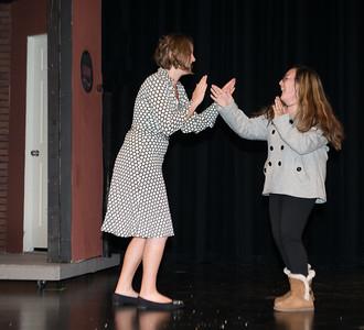 Yes Virginia dress rehearsal