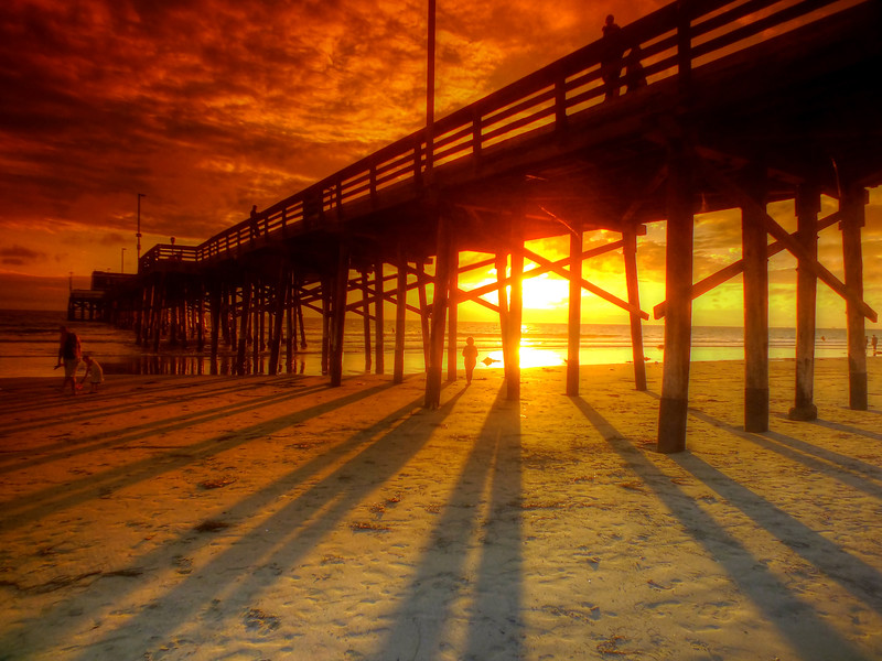 Sunset At The Pier Newport Beach California.jpg