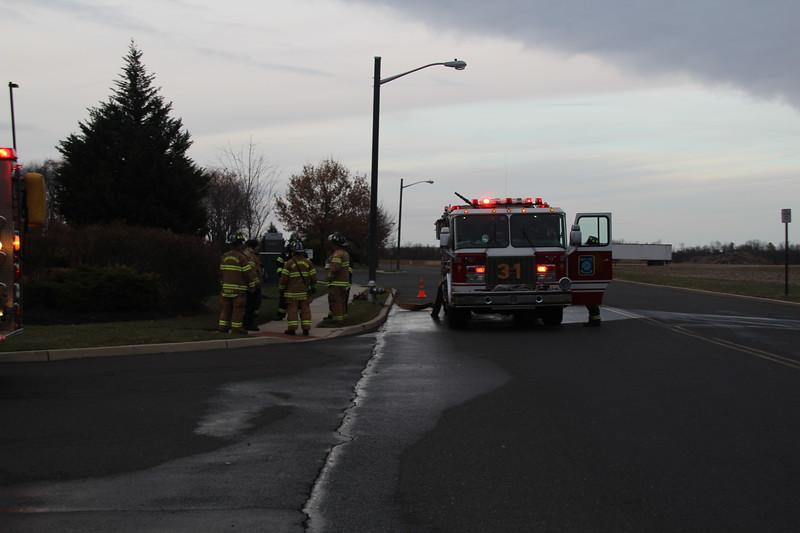 11-30-2012(Burlington County)Florence Twp- Multi Alarm Fire-  270 Daniels Way Christmas Tree Warehouse