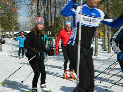 2013-April 14 Flash XC Ski Race at Timber Ridge