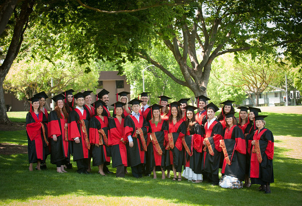 Graduation - Sunnyvale May 2012 - Group