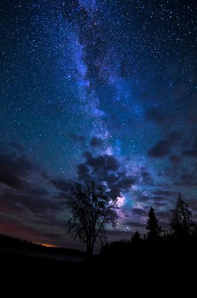 Lost Lake Uintas - Milky Way