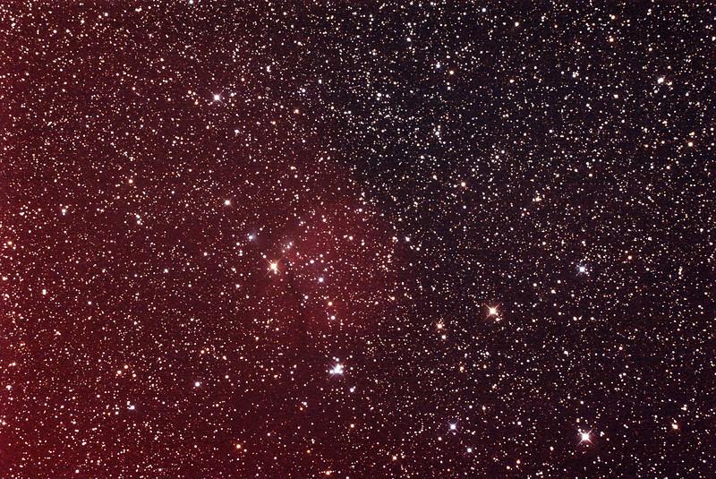 Gum 6 - Sh2-302 Nebula - 1/3/2014 (Processed stack)