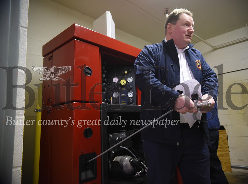 The Butler County Fire Chief's Association purchased a piece of equipment that is vital for fighting fires and firefighter safety.