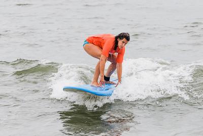 Ellen Surfing Long Beach 8-20-18