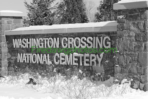 Washington Crossing National Veterans Cemetery