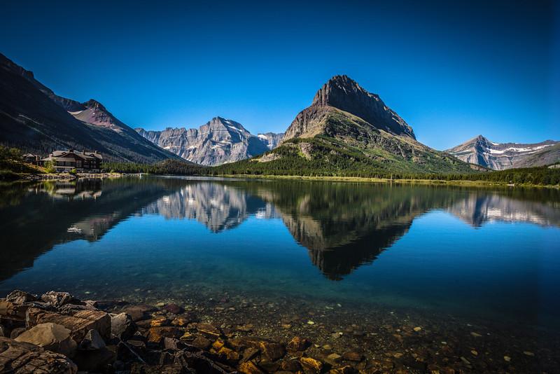 Glacier National Park, MT- Many Glacier area