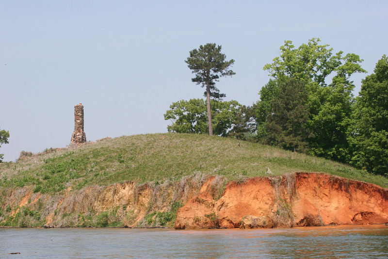lone chimney - Lake Harding, West Point, GA