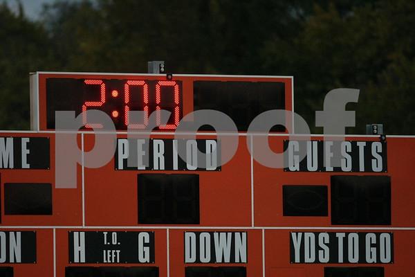 Varsity-Oak Grove vs Van Horn 10-20-09