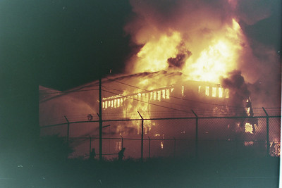 General Alarm Brockton Ma. King Size Shoe Factory Spark Street 07/19/1994.