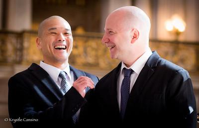 David & Michael Wedding Ceremony