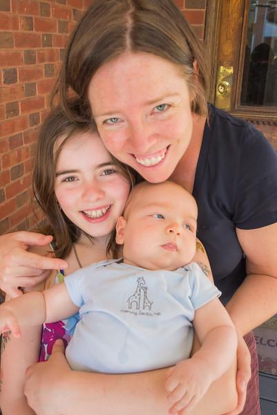Joy, Isabel & Oliver