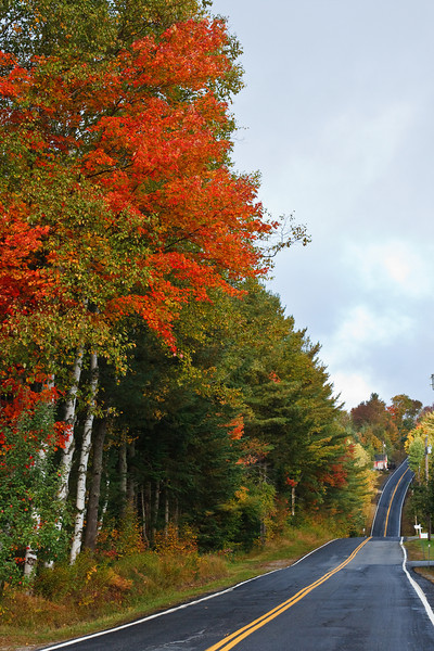 A typical Autumn scene in northeast New Hampshire (photo by Kerry Brooks)