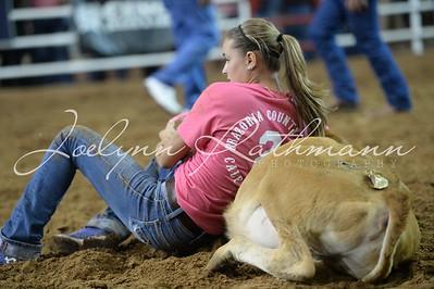 Saturday Night Calf Scramble