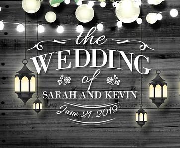 Sarah & Kevin's Wedding!