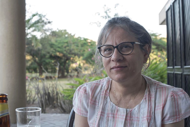 Anita in Dar-es-Salam