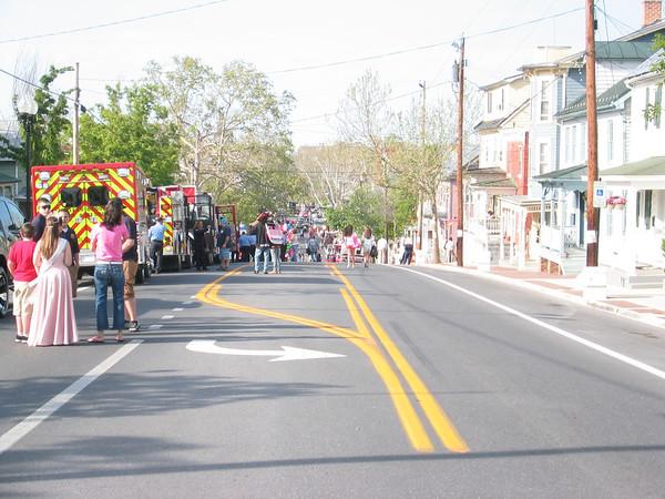 Dillard Guard in Apple Blossom parade