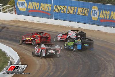 Super DIRT Week At Oswego - 10/4/17 - Michael Fry