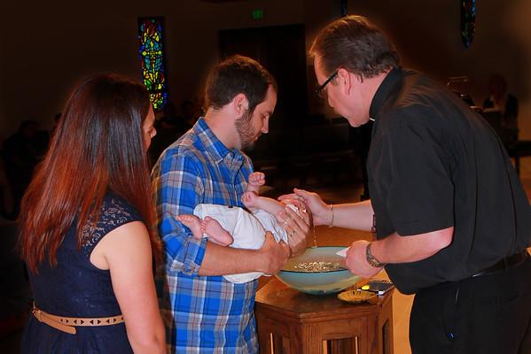 Oliver's Baptism