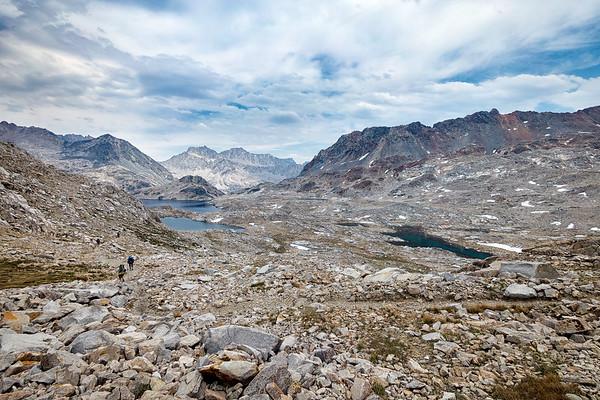 John Muir Trail: Muir Trail Ranch to Mather Pass