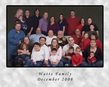 Watts Family - Xmas 2008