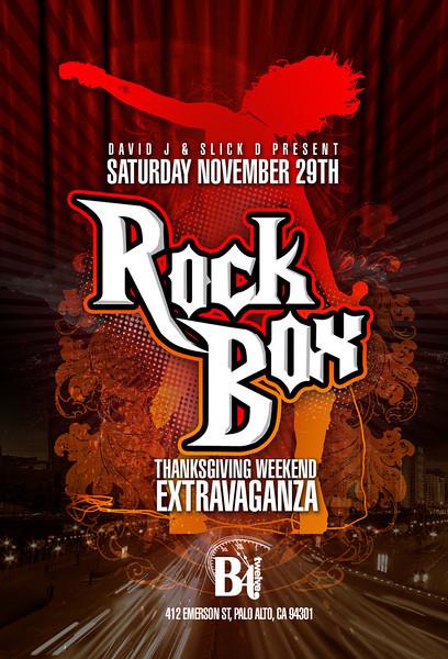 David J & Slick D Present ROCK BOX @ B4Twelve 11.29.08