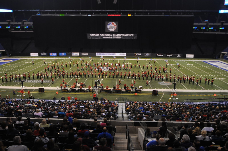 Bands of America, Lucas Stadium, Indianapolis, IN