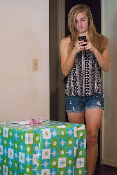 Hannah's 17th Birthday.