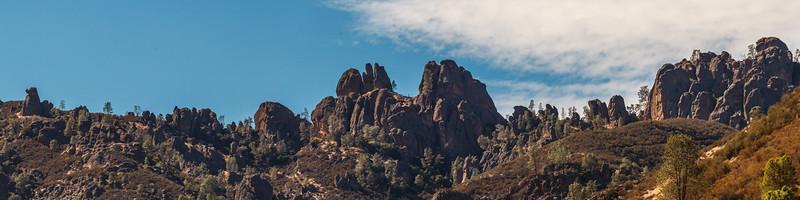 Pinnacles Nat. Park. 7 shot pano