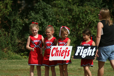 Pee-Wee Chiefs vs Haywood Co. 10.6.2007