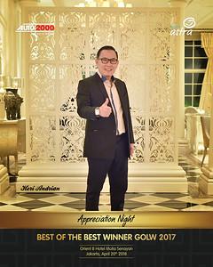 180420 | Astra Best of The Best Winner Golw 2017