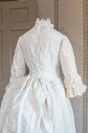 Antiquarian Society - 1880 Wedding Dress