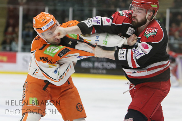 Cardiff Devils vs Sheffield Steelers 11-12-16