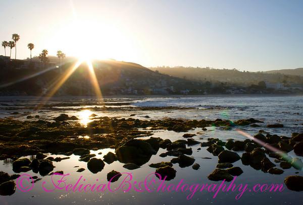 Sunrise at Laguna Beach