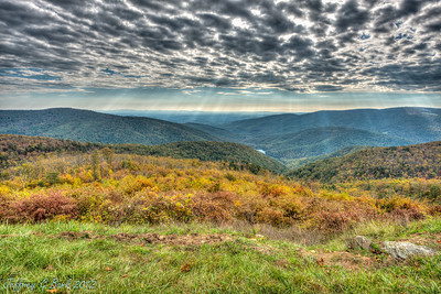 Skyline Drive - Photmatix