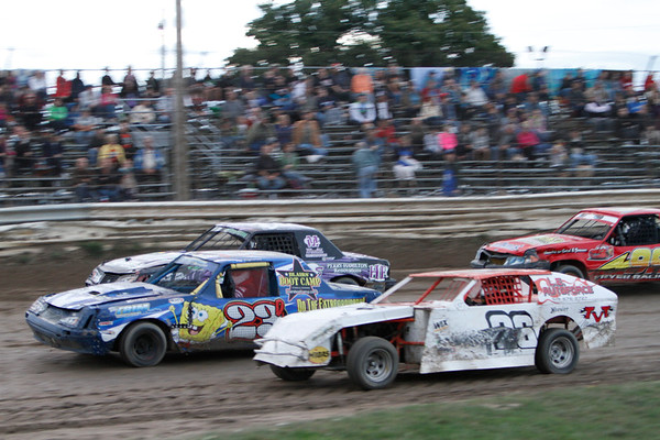 South Buxton Raceway, Merlin, ON, September 8, 2012