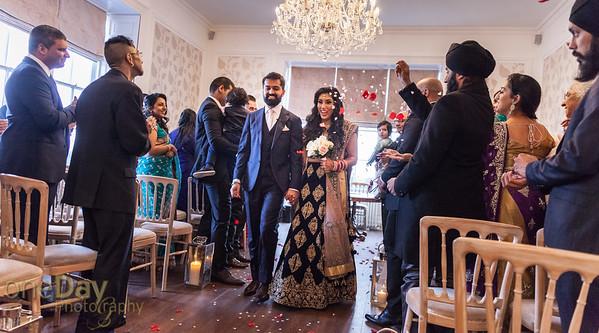 Anshu and Ravi Reception