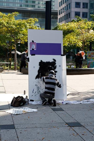 Deadboy at the Street Art Festival