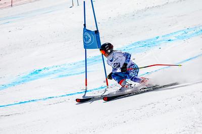Giant Slalom -  Womens Run Two