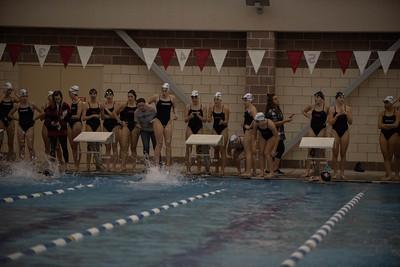 Girls swimming vs. Haddonfield
