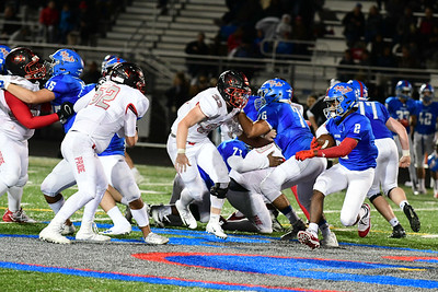F ootball: Heritage at Riverside HOCO 10.12.2018 (by Trish Baer)