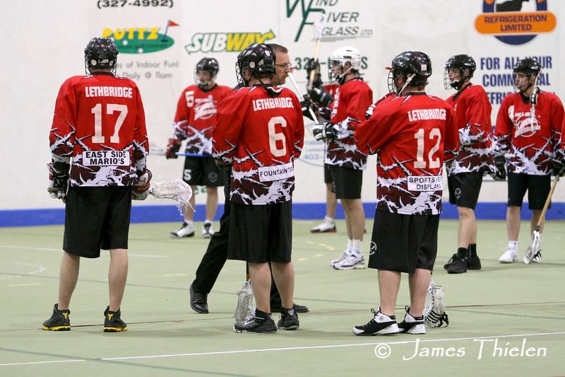 Lethbridge Barracudas vs Okotoks Ice June 07, 2008
