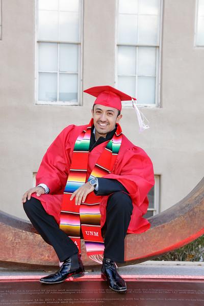 Carlos UNM Graduation 2016