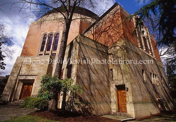 USA, Oregon, Portland. Congregation Beth Israel. (2008)